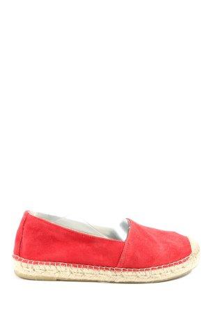 Vidorreta Espadrilles-Sandalen rot-wollweiß Casual-Look
