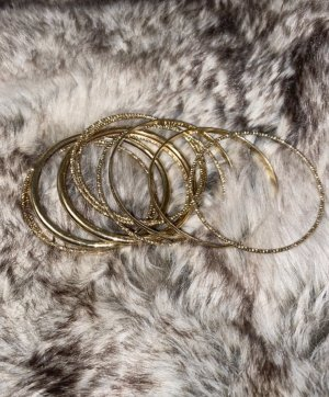 Vintage Bangle gold-colored-black