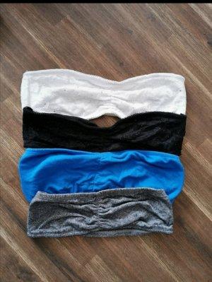 Top a fascia multicolore