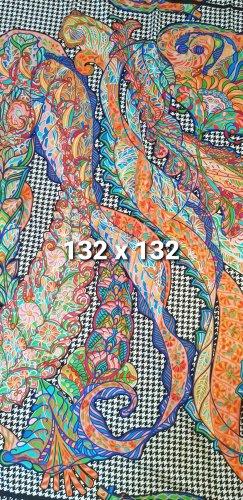 Zara Shoulder Scarf multicolored