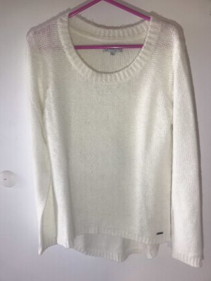 40 Grad Coarse Knitted Sweater white-natural white