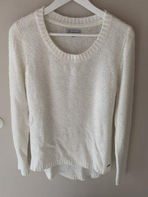 Vierzig Grad Pullover wollweiß
