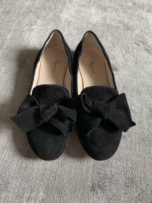 Vigneron Ballerina's met kant zwart