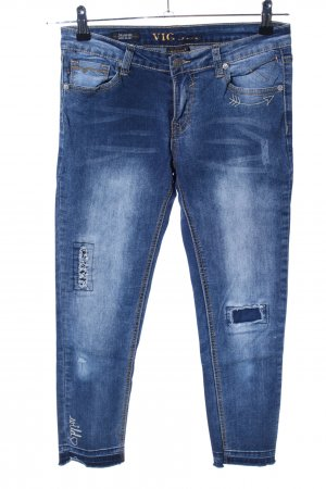 Vigoss Jeans skinny blu stile casual