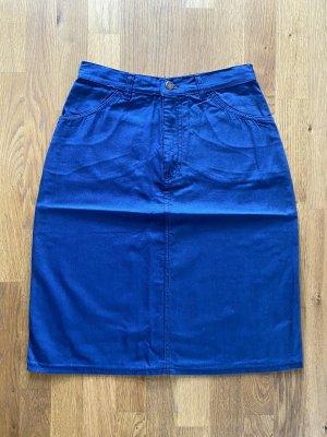 Viking Pencil Skirt dark blue