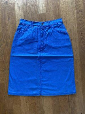 Viking Denim Skirt steel blue