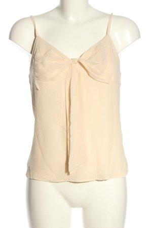 Viktor&Rolf for H&M ärmellose Bluse creme Casual-Look