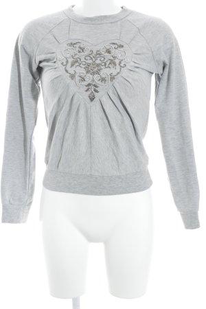 Viktor&Rolf for H&M Sweatshirt hellgrau Casual-Look