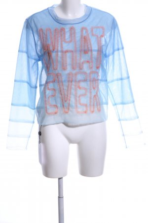 Viktor&Rolf Transparenz-Bluse Farbverlauf Casual-Look