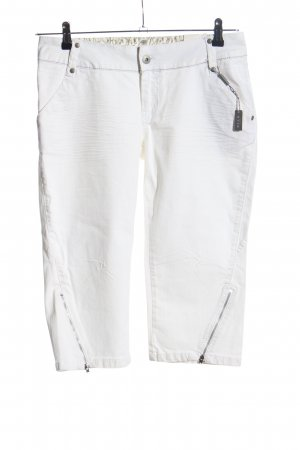 Vila 3/4-jeans wit casual uitstraling