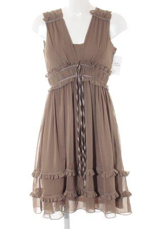 Vila A-Linien Kleid beige Elegant