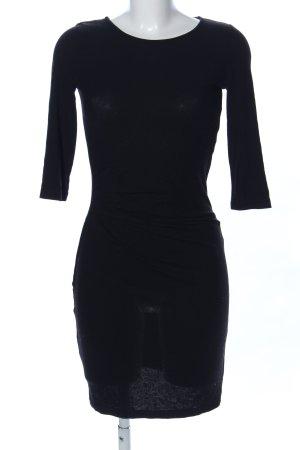 Vila Jerseykleid schwarz Casual-Look