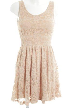 Vila A-Linien Kleid nude Elegant