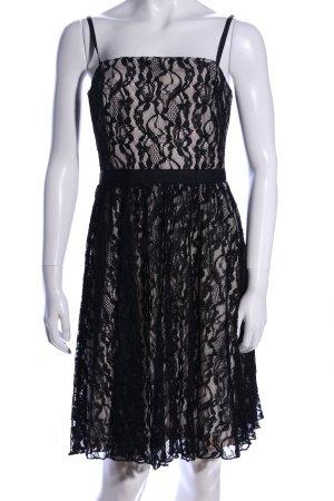 Vila Abendkleid schwarz-creme Elegant