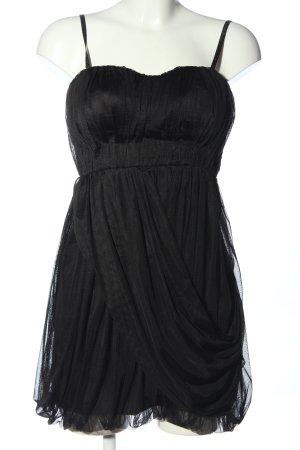 Vila Abendkleid schwarz Casual-Look