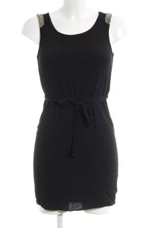 Vila Abendkleid schwarz-silberfarben Elegant