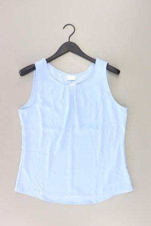 Vila Ärmellose Bluse Größe 42 blau aus Polyester