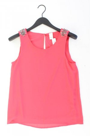Vila Ärmellose Bluse Größe S mit Pailletten pink