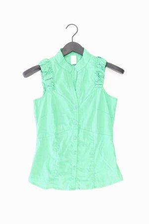 Vila Ärmellose Bluse Größe XS grün aus Baumwolle