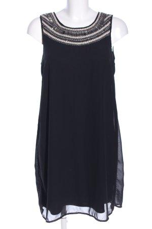 Vila Blusenkleid schwarz Elegant