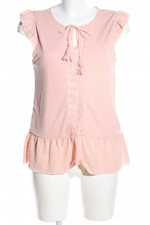 Vila Blusentop pink Casual-Look