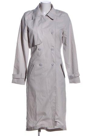 Vila Floor-Lenght Coat light grey business style