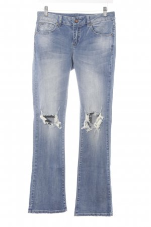 "Vila Boot Cut Jeans ""Vichill 5P Skinny Bootcut Destroys"" hellblau"