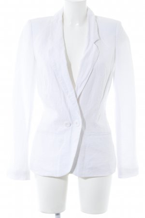 Vila Boyfriend Blazer white casual look
