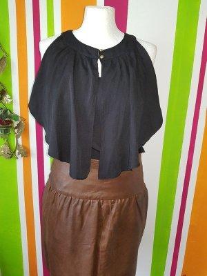 Vila by Vero Moda Bluse Tunika Top Shirt Gr. XS (34) lockere Oberteil schwarz