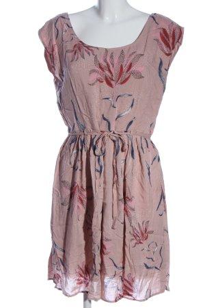 Vila Clothes A-Linien Kleid Blumenmuster Casual-Look