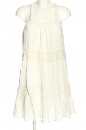 Vila Clothes Babydoll Dress white elegant