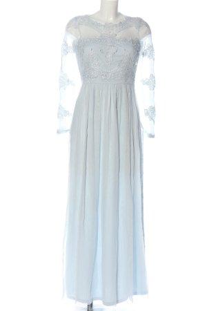 Vila Clothes Suknia balowa niebieski Elegancki