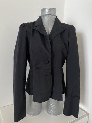 Vila Clothes Blazer, schwarz, Gr. M, mit Schleife