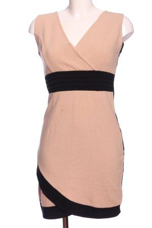 Vila Clothes Pencil Dress nude-black business style