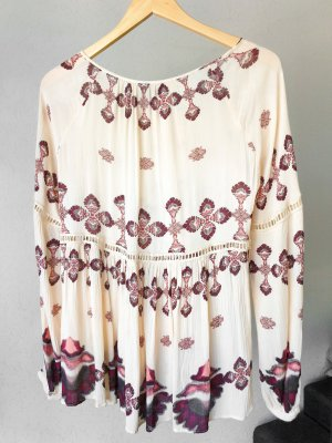 Vila clothes Bluse parsley boohoo Tunika coachella leichtes Oberteil shirt dress babydoll