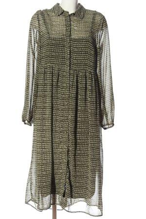 Vila Clothes Blusenkleid khaki-wollweiß Elegant