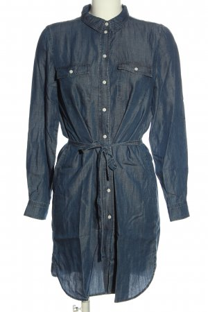 Vila Clothes Blusenkleid blau Casual-Look