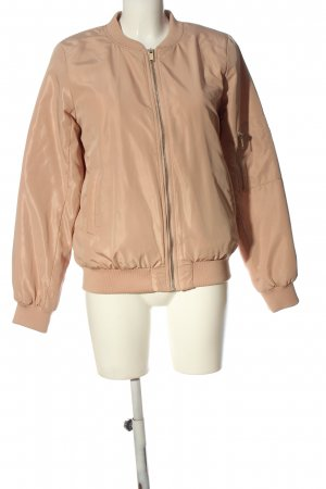 Vila Clothes Bomberjacke nude Casual-Look