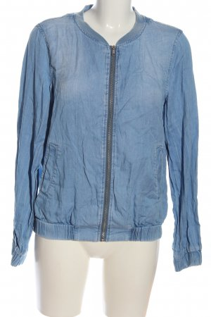 Vila Clothes Bomberjacke blau Casual-Look