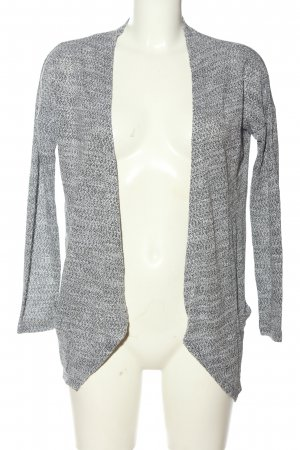 Vila Clothes Cardigan hellgrau meliert Casual-Look