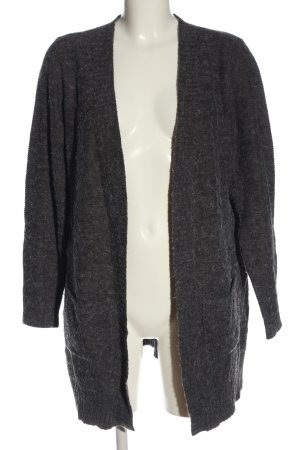 Vila Clothes Cardigan hellgrau Casual-Look