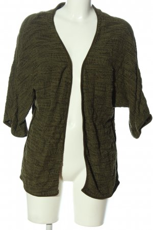 Vila Clothes Cardigan braun abstraktes Muster Casual-Look