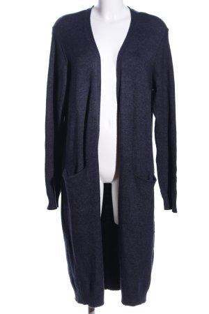 Vila Clothes Cardigan blau meliert Casual-Look