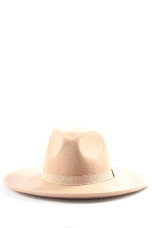 Vila Clothes Felt Hat cream casual look