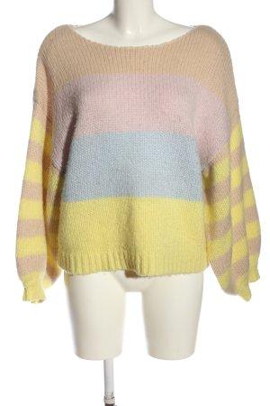 Vila Clothes Pullover a maglia grossa Colore sfumato stile casual