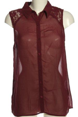 Vila Clothes Hemd-Bluse rot Elegant