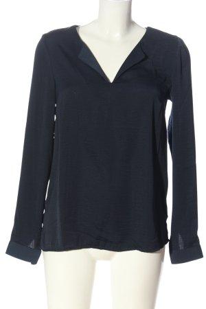 Vila Clothes Hemd-Bluse blau Elegant