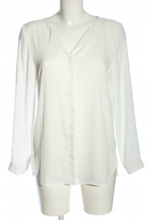 Vila Clothes Hemd-Bluse weiß Business-Look