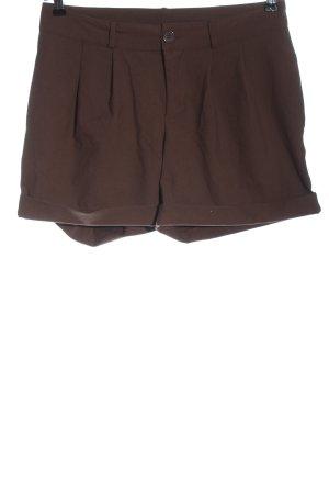 Vila Clothes Hot pants bruin casual uitstraling