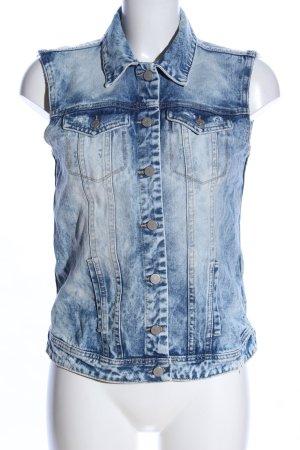 Vila Clothes Jeansweste blau Casual-Look